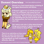 Domeni Species Guide - Overview by AquaPyrofan