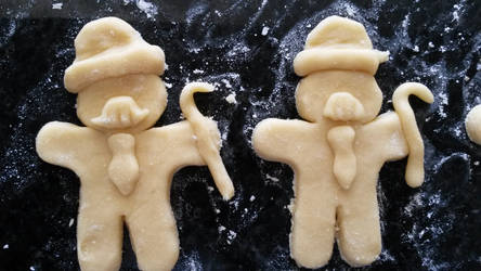 Tintin cookies: Dupont et Dupond by SpipLOVEr