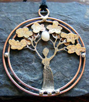 Mother Tree with Opal by MoonLitCreations