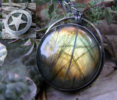 Labradorite Hidden Pentacle 2 by MoonLitCreations