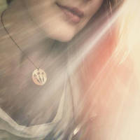 Goddess Brighid Necklace by MoonLitCreations