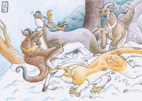 Hunting: Winter breeze by Jalohauki