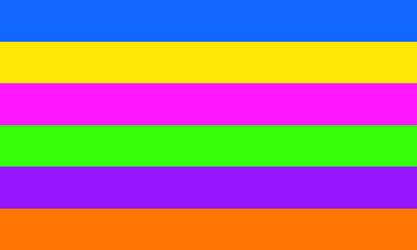 Panoriented Pride Flag by jfifles