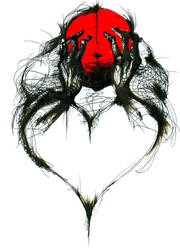 heart shaped heart by fistsofbloodandink