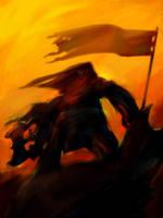 Norse Warrior by OnMyOwnStudios