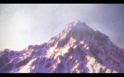 Snow Mountain by OnMyOwnStudios