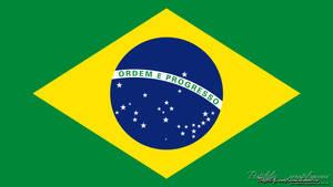 Bandeira do Brasil 1920x1080 by renatofraccari