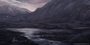 Purple Landscape by onlychasing-safety