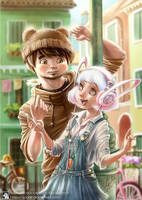 BROWN and CONY by Apolar