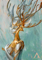 SILVER and GOLD (Prints for Sale) by Apolar