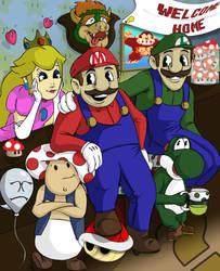 Mario and Company by joemanoh