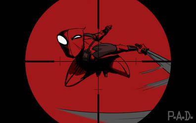 Deadpool in sight by joemanoh