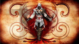 PS3 wallpaper- Ezio by ZeroKriz