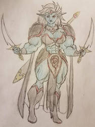 Drow Queen by jarhead300099