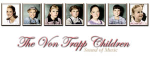 The 7 Children: Sound of Music by Livadialilacs