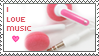 Music Stamp by ladieoffical
