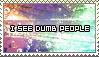 I See Dumd People Stamp by ladieoffical