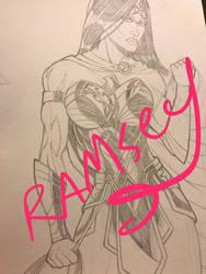 Wonder Woman by ramseyramirez