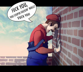 It's ME, Mario by andrahilde