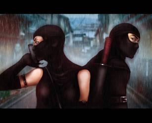 Ninjas by andrahilde