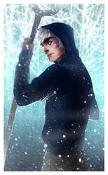 Jack Frost - Commission by andrahilde