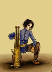Ripley, au canon by sombrefeline