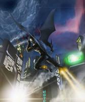 The Tomorrow Knight by aFletcherKinnear