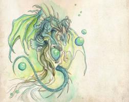 Dragon bubbles finished by Mystalia