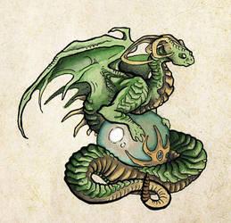 The rattlesnake by Mystalia