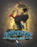 Bruce Lee tribute by etubi92