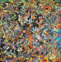 Ace of Spades - Phil Connor - Psychedelic Art by keepstillkeepquiet