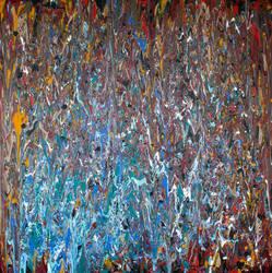 Water Cavern - Philip Connor - Large Abstract Art by keepstillkeepquiet