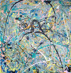 Problem Child - Large Abstract Art By Phil Connor by keepstillkeepquiet