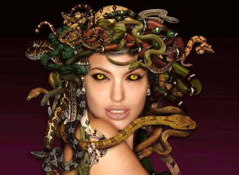 Medusa by mythological-club