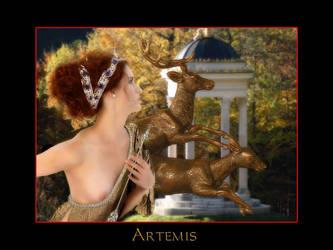 Artemis by mythological-club