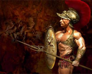 Ares Print by mythological-club