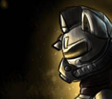 Steel ranger - Fallout 76 style [speedpaint 5min] by Shido-Tara