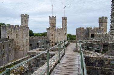 Stock 324 Caernarfon Castle by Einheit00