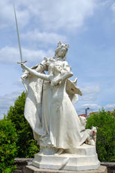 Stock 348 Joan of Arc Monument by Einheit00