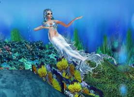New sense bonus pic - mermaid 2 by Worldoftg