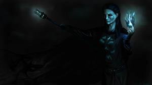 Skyrim - Imperial Necromancer by Helliaca