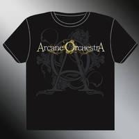 ARCANE ORCHESTRA tshirt design by stan-w-d