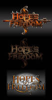 HOPES of FREEDOM logo tryout by stan-w-d