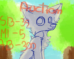 YCH Wolf auction [CLOSED] 2 slots by TheDragonFoxy