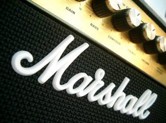 Marshall Amp by himynamessam