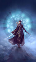 Lady Maria of the Astral Clocktower by Gabriela-Birchal