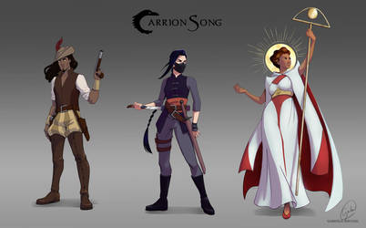 Carrion Song by Gabriela-Birchal