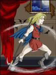 CV-Badass in a Skirt by sindra