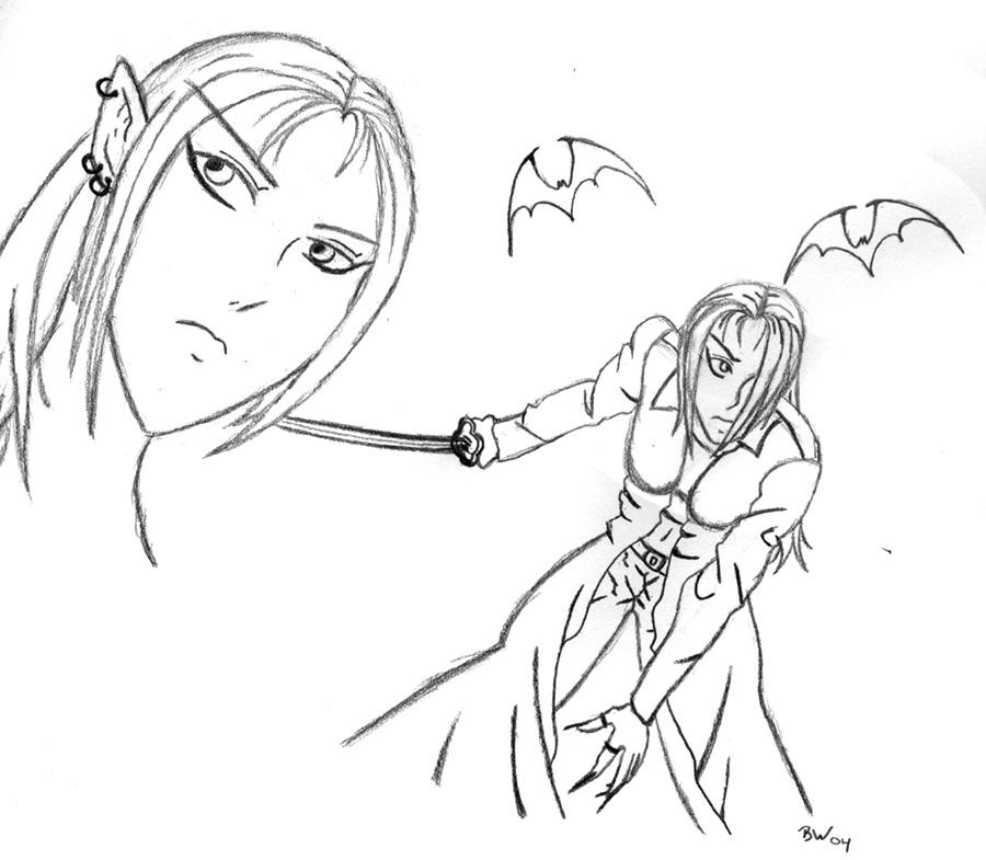 More Sin Sketches by sindra