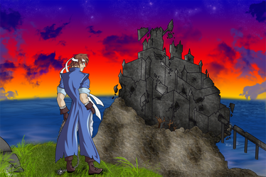 Castlevania: Cliff of Mess by sindra